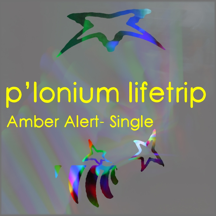 P-lonium Lifetrip medium- Amber Alert- Single