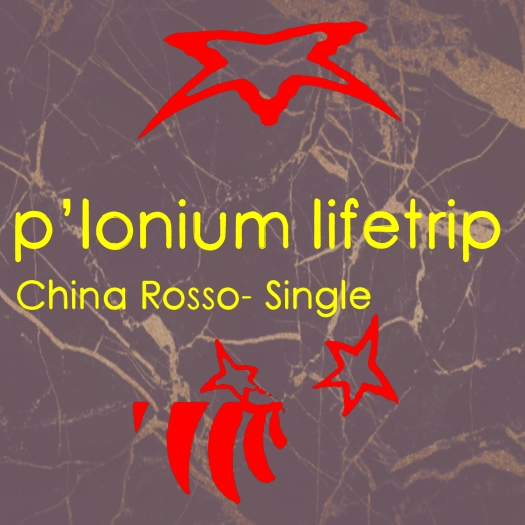 P-lonium Lifetrip medium-China Rosso- Single