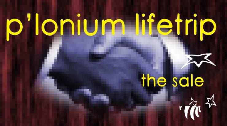 P-lonium Lifetrip medium- the sale